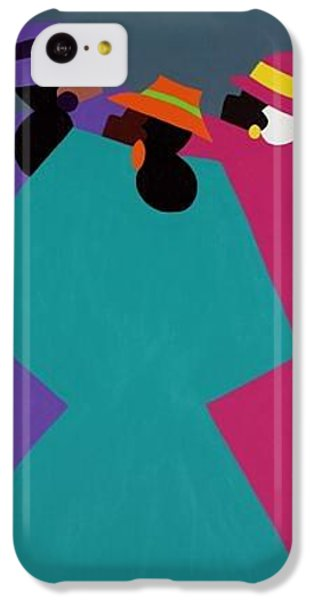 iPhone 5c Case - Church Ladies Too by Synthia SAINT JAMES