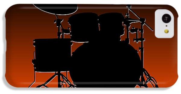 Cincinnati Bengals Drum Set IPhone 5c Case by Joe Hamilton