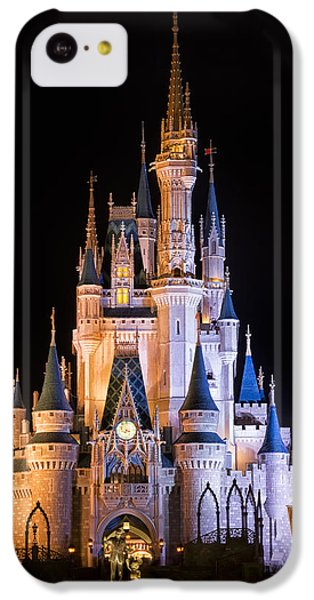 Cinderella's Castle In Magic Kingdom IPhone 5c Case by Adam Romanowicz