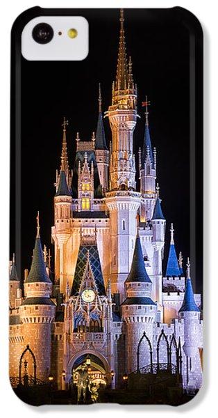 Cinderella's Castle In Magic Kingdom IPhone 5c Case