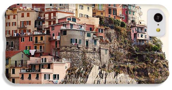 Cinque Terre Mediterranean Coastline IPhone 5c Case by Kim Fearheiley