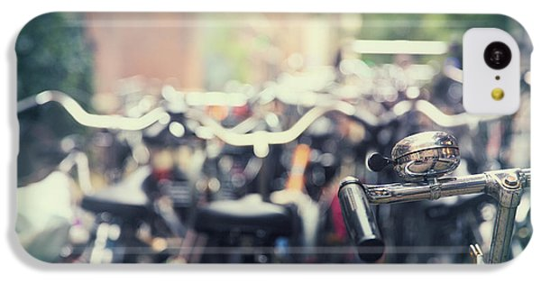 Bicycle iPhone 5c Case - City Of Bikes by Jane Rix