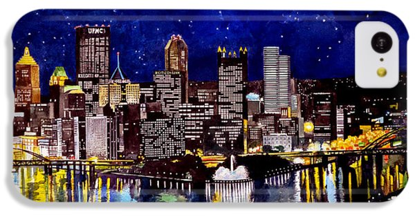 City Of Pittsburgh At The Point IPhone 5c Case