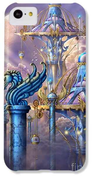 City Of Swords IPhone 5c Case by Ciro Marchetti