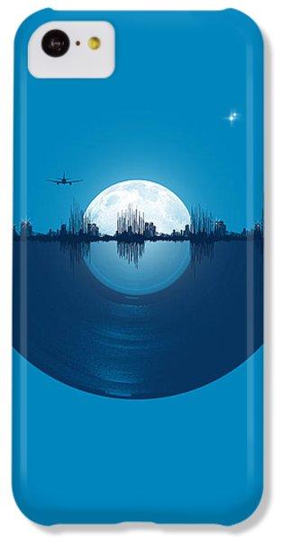 Sound iPhone 5c Case - City Tunes by Neelanjana  Bandyopadhyay
