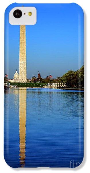 Washington Monument iPhone 5c Case - Classic Washington by Olivier Le Queinec