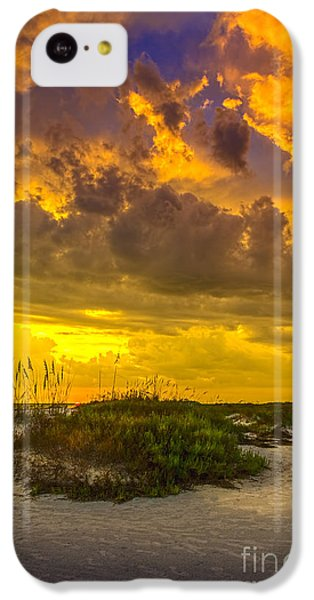 Beach Sunset iPhone 5c Case - Clearing Skies by Marvin Spates
