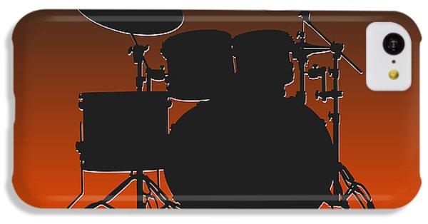 Cleveland Browns Drum Set IPhone 5c Case by Joe Hamilton