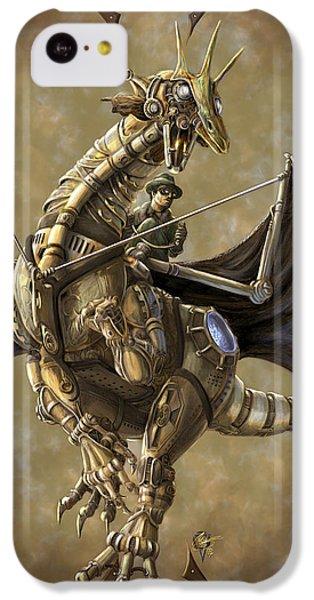 Dragon iPhone 5c Case - Clockwork Dragon by Rob Carlos