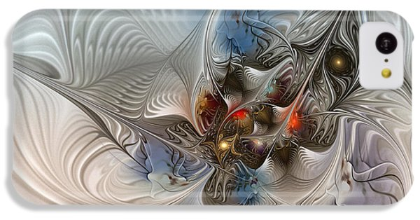 Cuckoo iPhone 5c Case - Cloud Cuckoo Land-fractal Art by Karin Kuhlmann