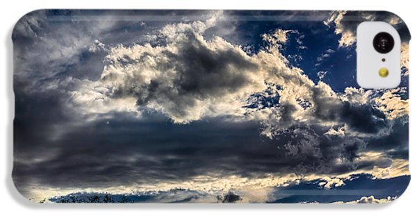 IPhone 5c Case featuring the photograph Cloud Drama by Mark Myhaver