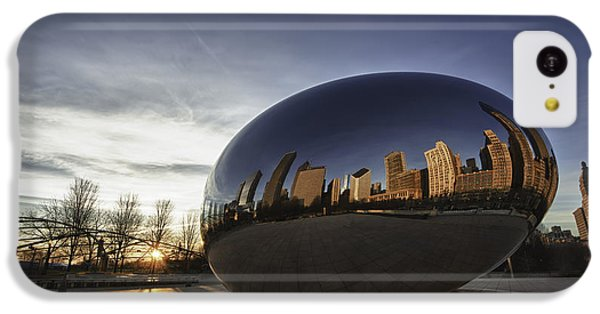 Cloud Gate At Sunrise IPhone 5c Case by Sebastian Musial