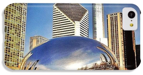 Cloud Gate chicago Bean Sculpture IPhone 5c Case