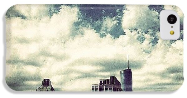 Architecture iPhone 5c Case - Clouds by Jill Tuinier