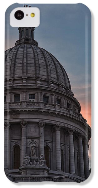 Clouds Over Democracy IPhone 5c Case by Sebastian Musial