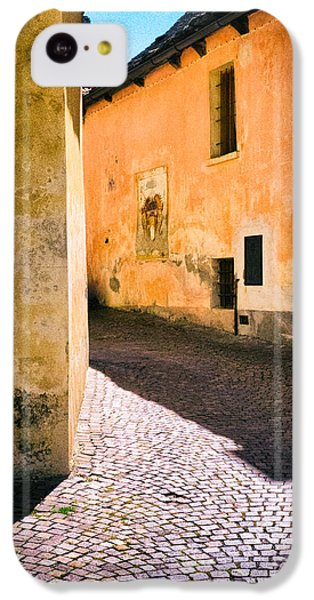 IPhone 5c Case featuring the photograph Cobbled Street by Silvia Ganora
