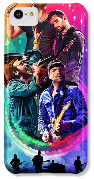 Coldplay Mylo Xyloto IPhone 5c Case