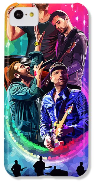 Coldplay iPhone 5c Case - Coldplay Mylo Xyloto by FHT Designs