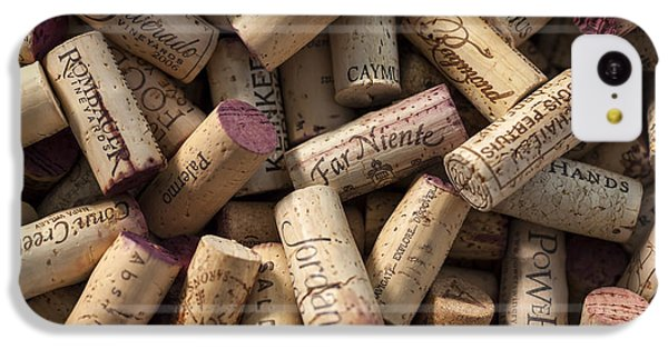 Collection Of Fine Wine Corks IPhone 5c Case by Adam Romanowicz