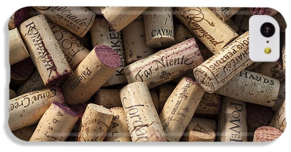 Collection Of Fine Wine Corks IPhone 5c Case