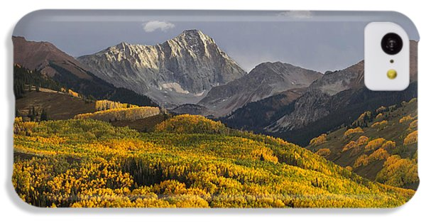 Colorado 14er Capitol Peak IPhone 5c Case by Aaron Spong