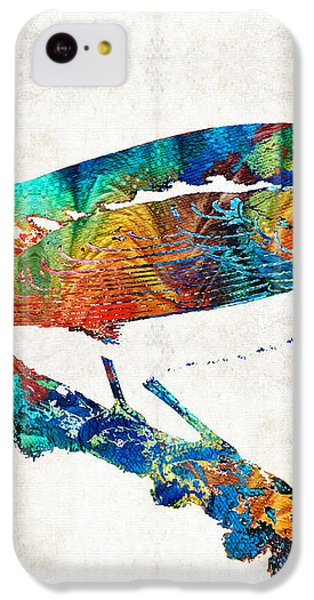 Colorful Bird Art - Sweet Song - By Sharon Cummings IPhone 5c Case by Sharon Cummings