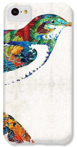 Colorful Bird Art - Sweet Song - By Sharon Cummings IPhone 5c Case