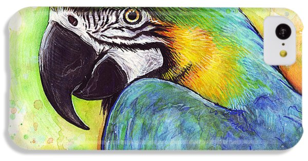 Macaw Watercolor IPhone 5c Case
