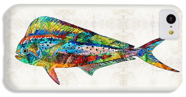 Colorful Dolphin Fish By Sharon Cummings IPhone 5c Case