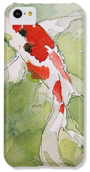 Colorful Fantail Goldfish 3 IPhone 5c Case by Tracie Thompson