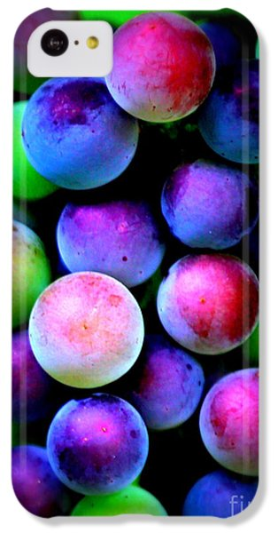 Colorful Grapes - Digital Art IPhone 5c Case by Carol Groenen