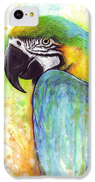Macaw Painting IPhone 5c Case