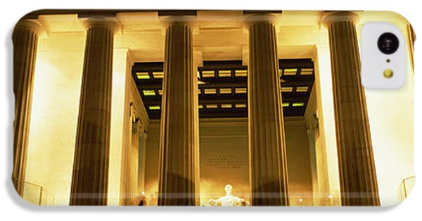 Columns Surrounding A Memorial, Lincoln IPhone 5c Case by Panoramic Images