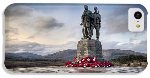 Commando Memorial At Spean Bridge IPhone 5c Case by Gary Eason