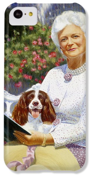 Companions In The Garden IPhone 5c Case by Candace Lovely