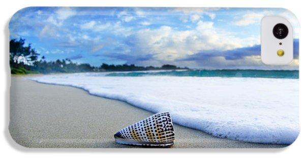 Beach iPhone 5c Case - Cone Foam by Sean Davey