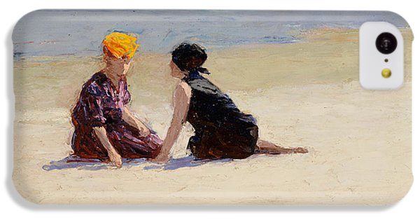 Valentines Day iPhone 5c Case - Confidences by Edward Henry Potthast