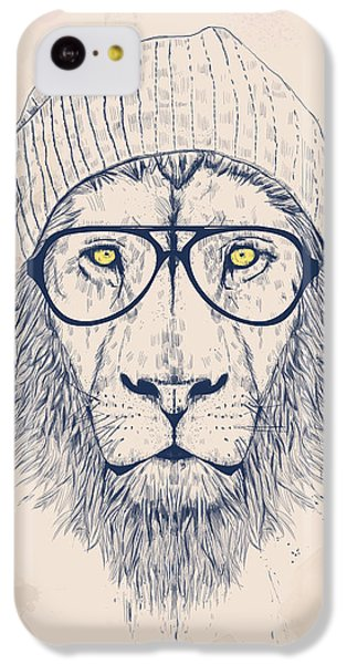 Cool Lion IPhone 5c Case by Balazs Solti