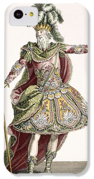 Ostrich iPhone 5c Case - Costume For Neptune In Several Operas by Jean Baptiste Martin