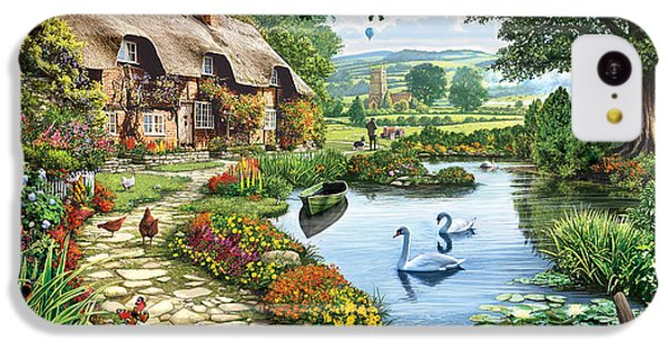 Cottage By The Lake IPhone 5c Case