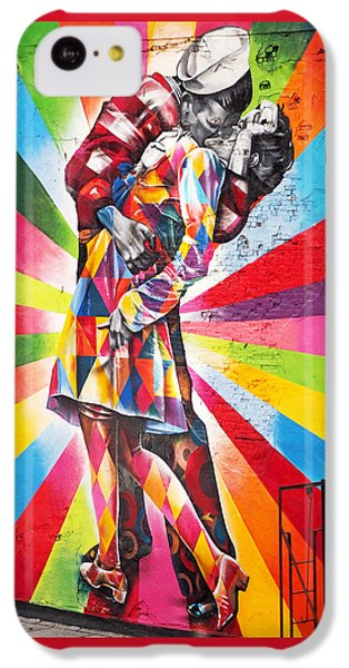 Couple Kissing In Times Square On V-j Day IPhone 5c Case by Rona Black