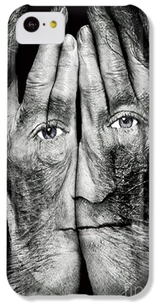 Cover Thy Faces IPhone 5c Case by Gary Keesler