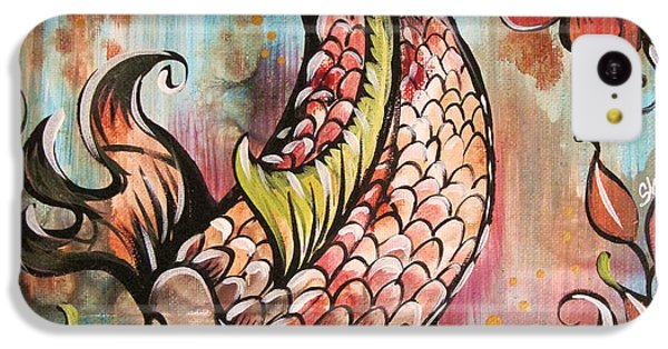 Coy Koi IPhone 5c Case by Shadia Derbyshire
