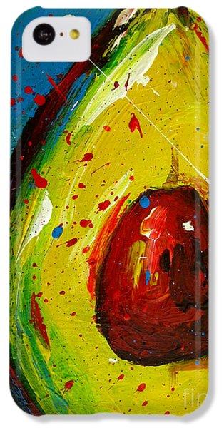 Crazy Avocado 4 - Modern Art IPhone 5c Case