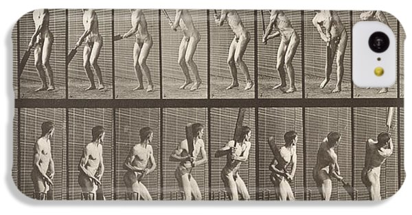 Cricketer IPhone 5c Case by Eadweard Muybridge