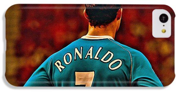 Cristiano Ronaldo Poster Art IPhone 5c Case