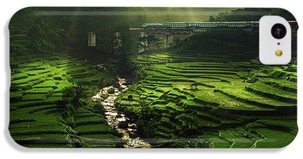 Train iPhone 5c Case - Crossing The Beautiful Bridge by Ismail Raja Sulbar