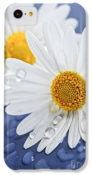 Daisy Flowers With Water Drops IPhone 5c Case