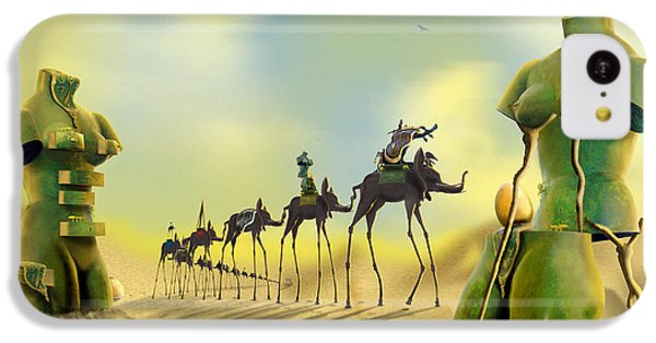 Ant iPhone 5c Case - Dali On The Move  by Mike McGlothlen