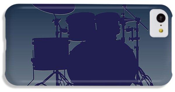 Dallas Cowboys Drum Set IPhone 5c Case by Joe Hamilton